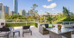 Large 1 bedroom unit with extra large balcony
